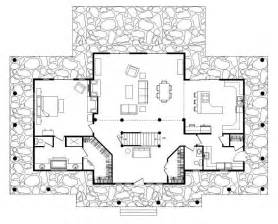 simple log cabin floor plans simple log house plan home design and style