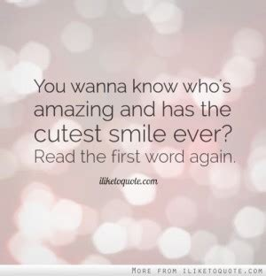 For A Smile Read The by Flirty Quotes For Quotesgram