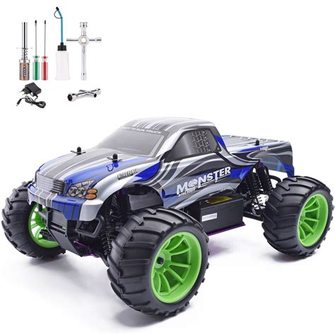 Top Speed Remote 1 hsp rc car 1 10 scale nitro gas power 4wd road truck 94108 high speed hobby remote