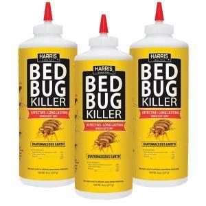 harris  oz diatomaceous earth bed bug killer  pack hde pk  home depot