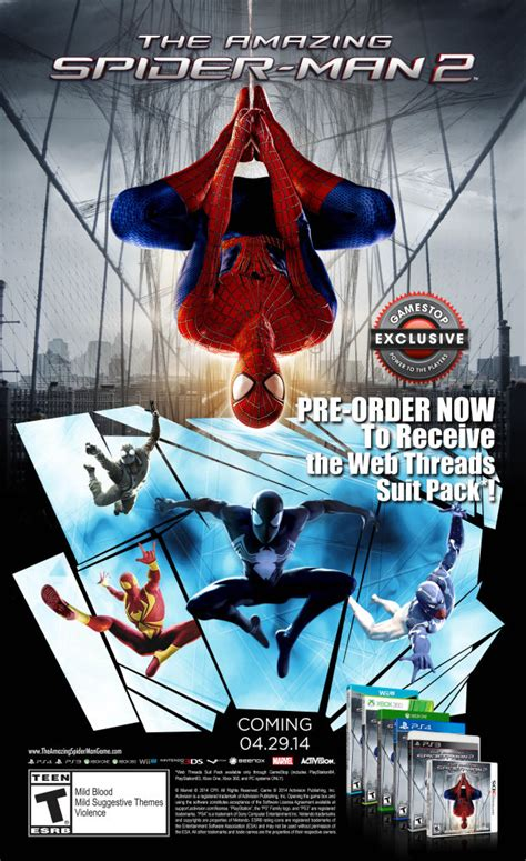 The 3 Most Amazing Pcs Of March 2014 - the amazing spider man 2 game release date pre order bonuses gaminrealm com