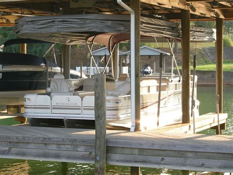 pontoon boat lift covers design the touchless boat cover