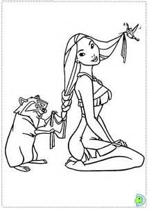 Disney Pocahontas Colouring Pages Page 2 sketch template