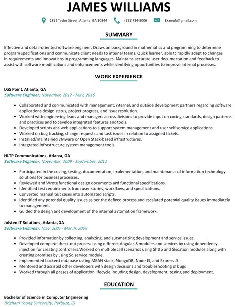 resume exles software resume related coursework resume ideas