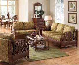 boca rattan living room furniture wicker living room