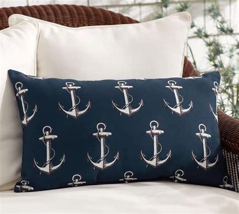 Outdoor Anchor Pillow by Indoor Outdoor Anchor All Lumbar Pillow Pottery Barn