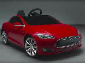Tesla Electric Childs Car There S Now A Tesla Model S For To Drive