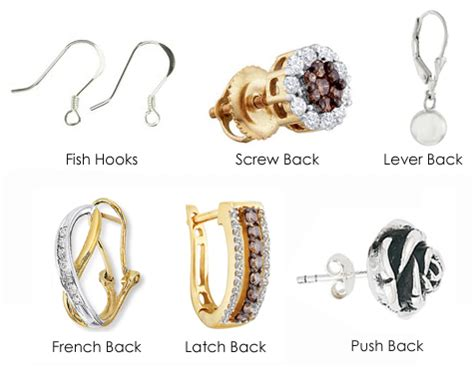 types of for jewelry the earring guide jewelry warehouse