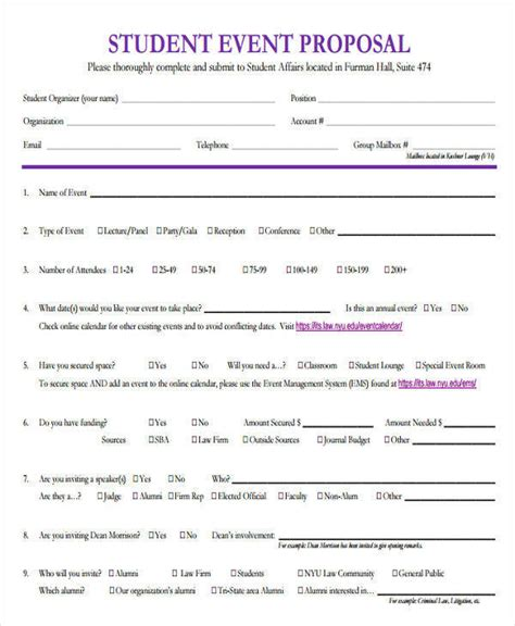 Event Planner Mba Nyu by 41 Event Sles Templates In Doc