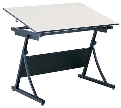 Safco Planmaster Height Adjustable Drafting Table Base Adjustable Height Drafting Table
