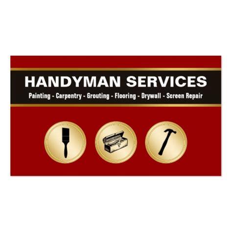 handyman business cards zazzle
