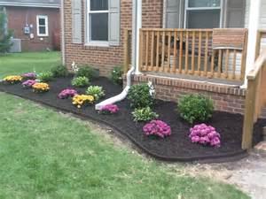 fall flower bed garden ideas pinterest