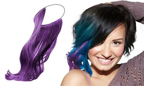 secret extensions hair colors secret extensions secret color by demi lovato groupon goods