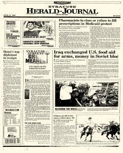 Syracuse Ny Birth Records Syracuse Herald Journal April 27 1992 P 152 Newspaperarchive 174
