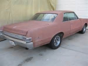 Pontiac Gto Parts For Sale 1965 Pontiac Gto And Parts For Sale Autos Weblog