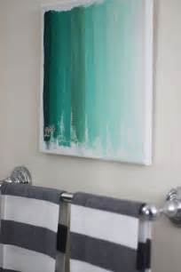 Diy Bathroom Art 25 Creative And Easy Diy Canvas Wall Art Ideas