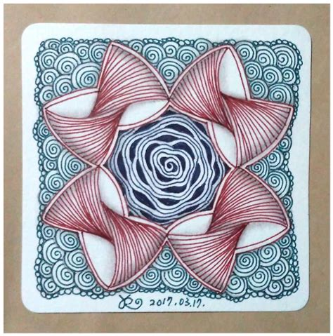 zentangle pattern diva dance 17 best images about zentangle etc with colour on