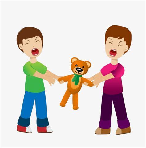 dibujos de niños jugando y peleando dos ni 241 os lucha mu 241 ecas ni 241 o pelea personajes de