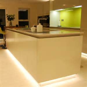 kitchen led lighting kitchen plinth led strip lighting kit 6m yourwelcome