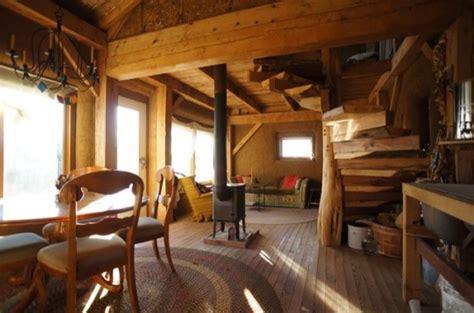 timber frame straw bale tiny house  sale