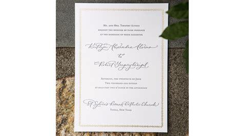how to put together wedding invitations martha stewart addressing common wedding invitation wording conundrums