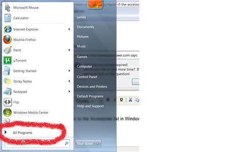 7 Accessories For Doing by If The Accessories List Is Avaiable For Windows 7 Where