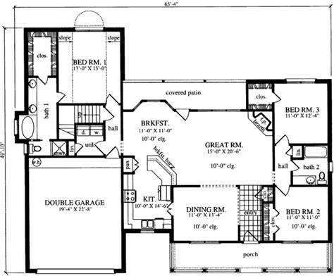 monster house plans com country style house plans 1821 square foot home 1