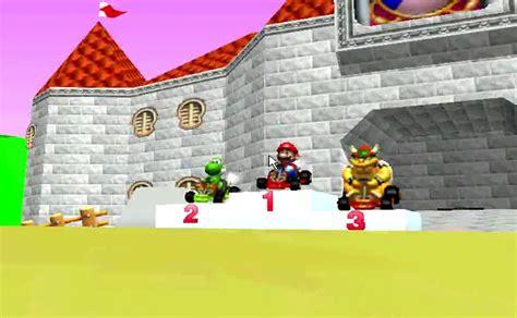 A Place Ending Mario Kart 64 Cup 1st Place Ending