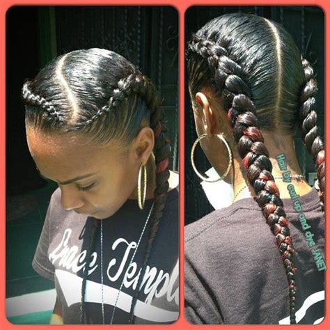cornrow hairstyles for black women with part in the middle mua dasena1876 movie night qu instagram photo 2