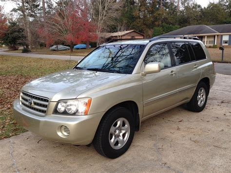 Toyota Of 2003 Toyota Highlander Pictures Cargurus