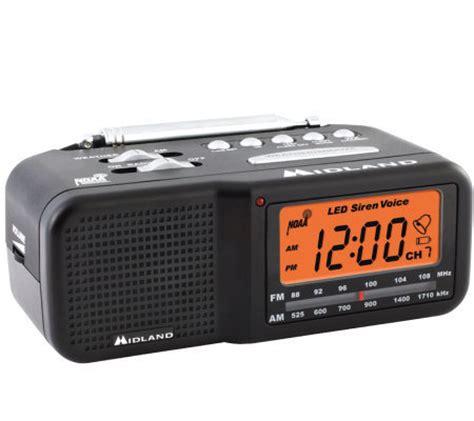 7 channel desktop alarm clock w am fm radio qvc