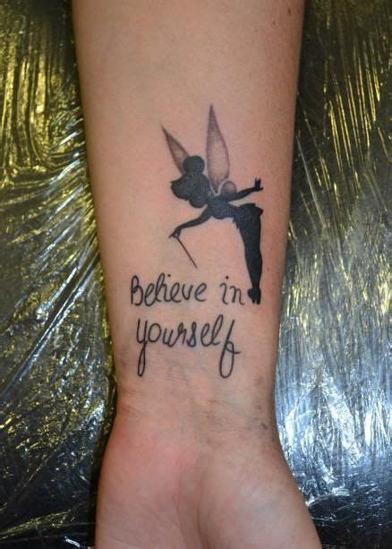 small believe tattoos small tinkerbell design quotes quotesgram by