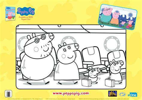peppa pig thanksgiving coloring pages peppa pig vacation coloring page mama likes this