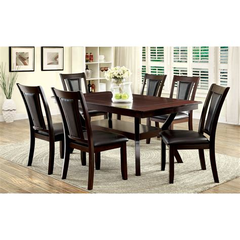 wood dining room sets cool modern furniture magnificent tempered glass dining
