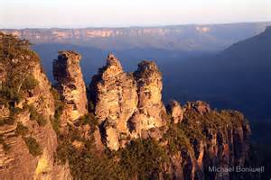 Wall Stickers Sydney quot the three sisters blue mountains australia quot by michael