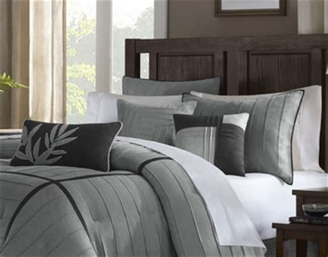 madison park connell comforter set in gray california
