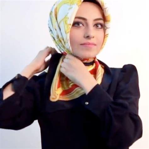 tutorial jilbab turki hijab tutorial segiempat turki tanpa peniti tutorial