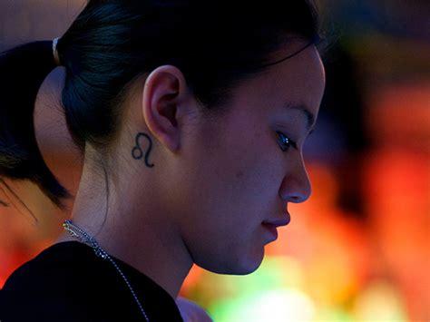 leo tattoo behind ear tiny leo leo tattoo behind ear tattooshunt com