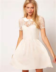Galerry lace dress collar