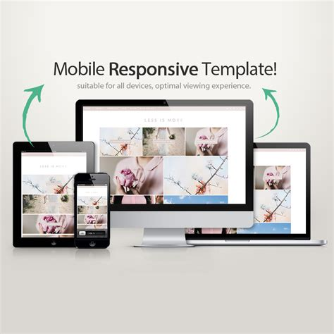 blog layout responsive blogger template less is more blogger templates