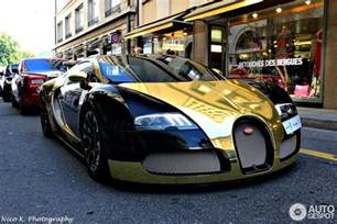 How Much Is A Bugatti Veyron 2014 Gold Chrome Wrapped Bugatti Veyron Owned By Flo Rida Looks
