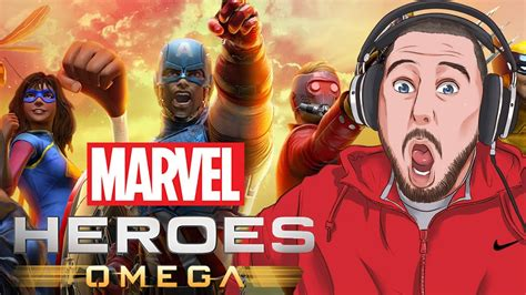 New Crocs Karakter Marvel Superheroes this new marvel is amazing marvel heroes omega gameplay part 1