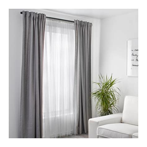 lill curtains ikea lill net curtains 1 pair white 280x250 cm ikea