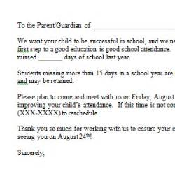 Parent Letter Regarding Attendance Truancy Letter To Parents 58 Images Client Print