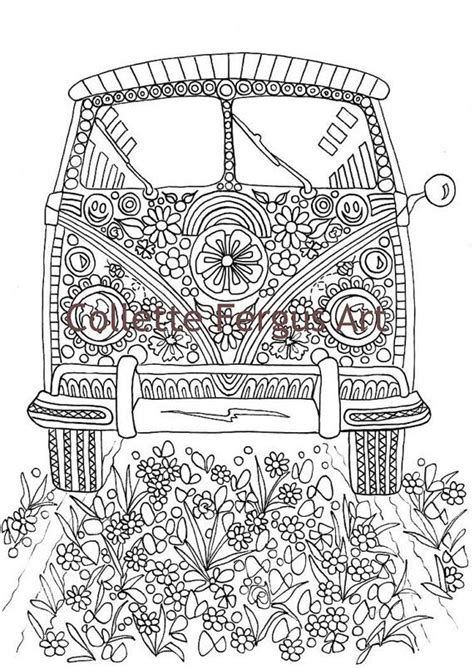 hippie coloring pages hippy free coloring pages