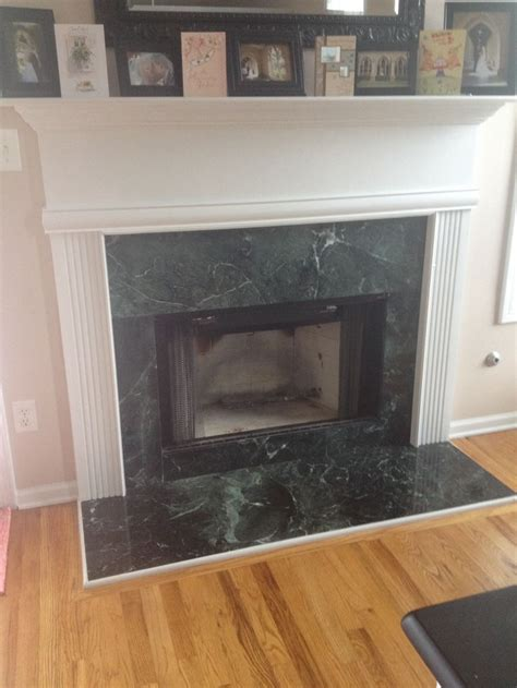 Green Marble Fireplace Makeover by 1000 Images About Diy Fireplace Makeover Sloans