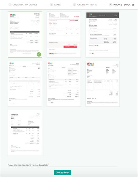 zoho invoice product review