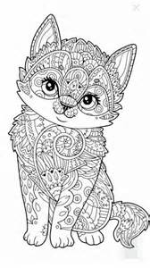 cute kitten coloring page more dessin pinterest