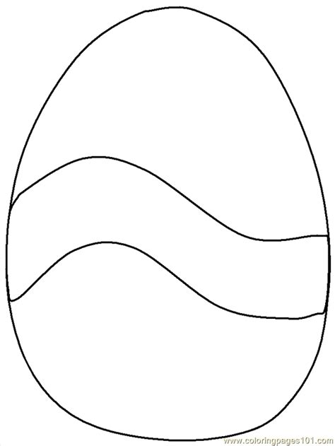 egg shape coloring page 34 egg shape coloring page oval coloring page