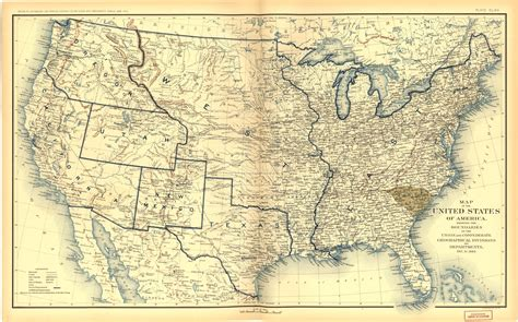 map united states 1860 places in american civil war history maps depicting